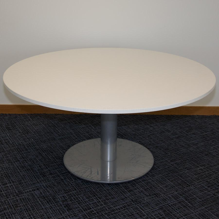 Senator White 1500D Round Office Table
