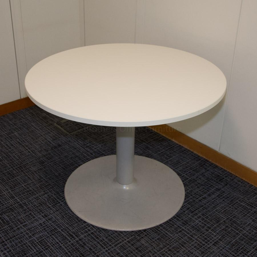 Senator White 1000D Round Office Table