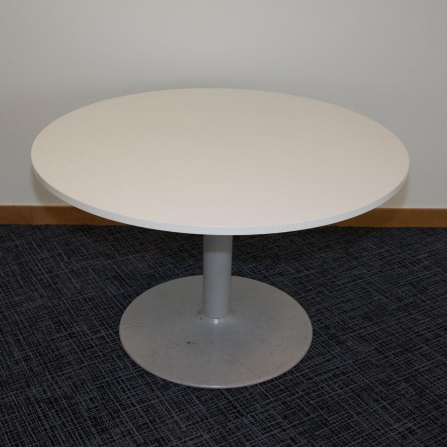 Senator White 1200D Round Office Table