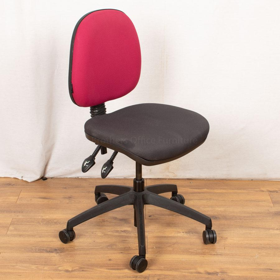 2 Lever Office Chair with Arms