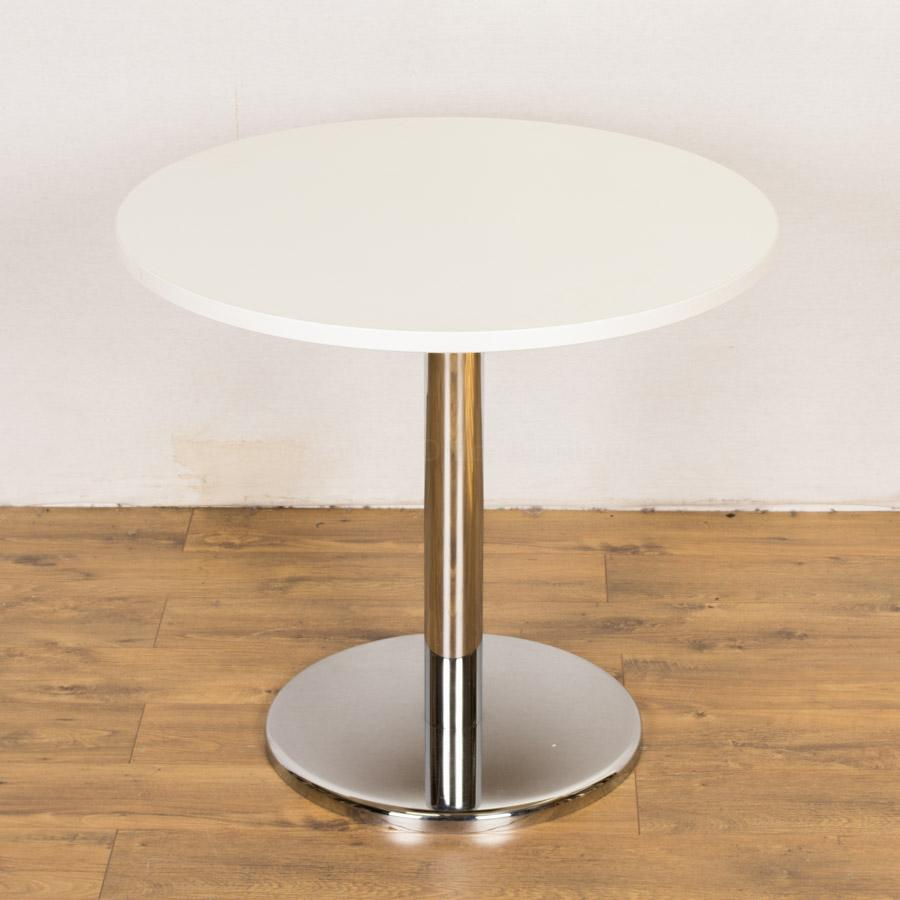 White 800d round office table rt79 for Round table for office