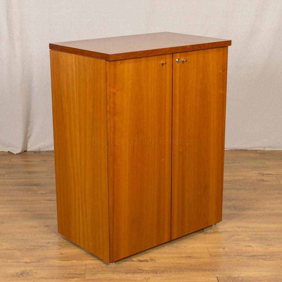 Cherry Veneer 1070H Executive Cupboard