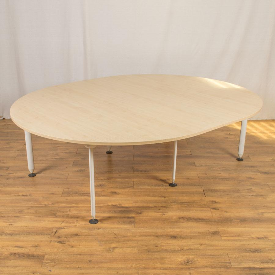 Maple 2500x2000 Sectional Boardroom Table (BT100)