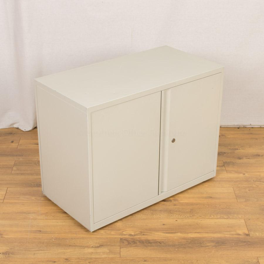 Light Grey 690H Steel Storage Cupboard