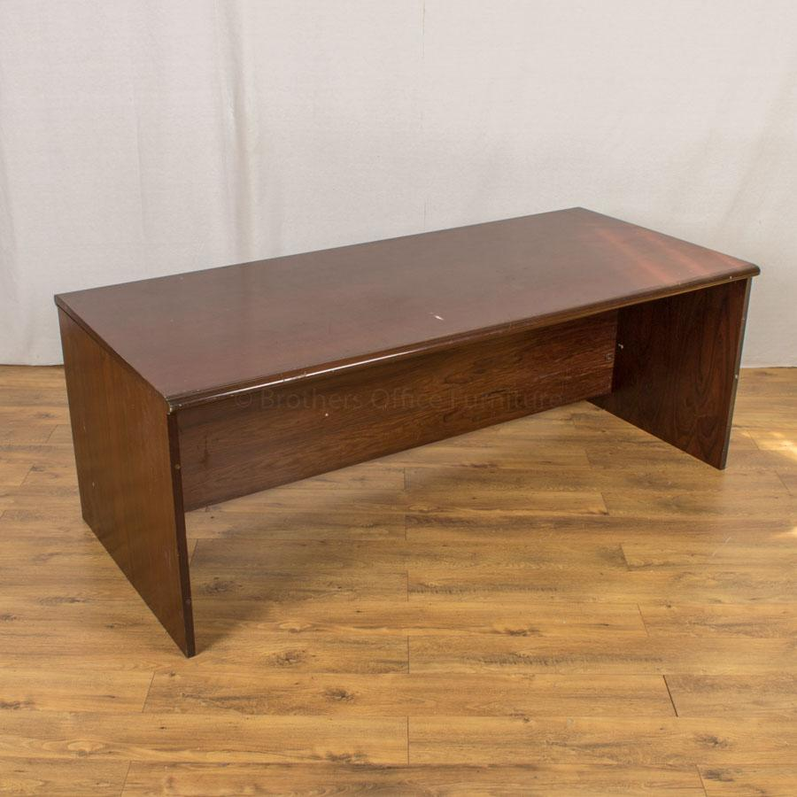 Mahogany Veneer 2000x900 Executive Desk