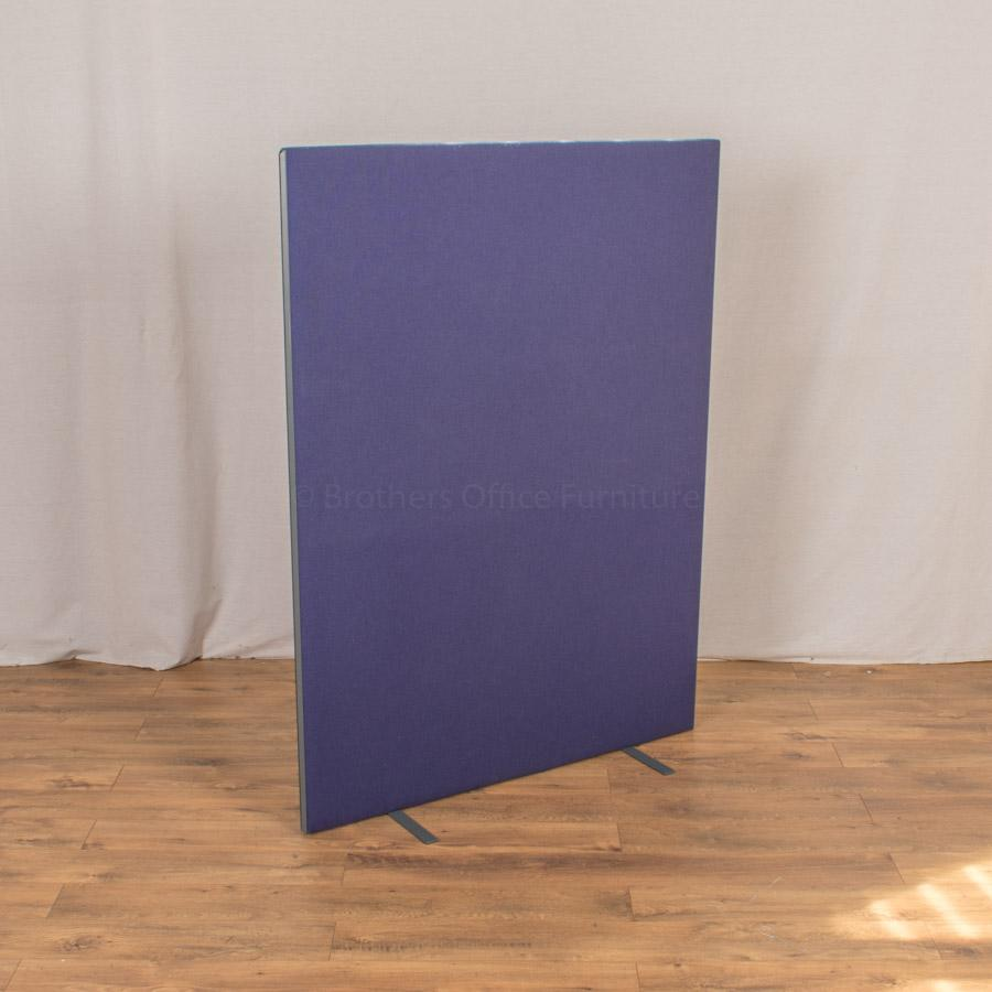 Blue Purple 1600H x 1200W Freestanding Screen