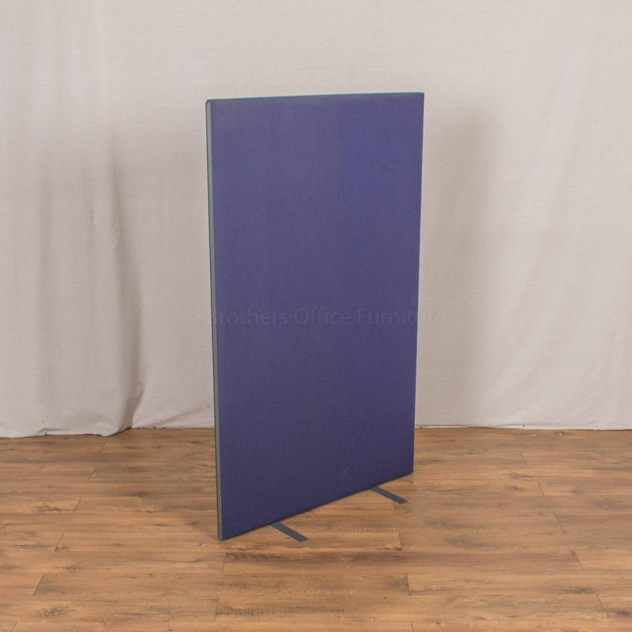 Blue Purple 1600H x 1000W Freestanding Screen