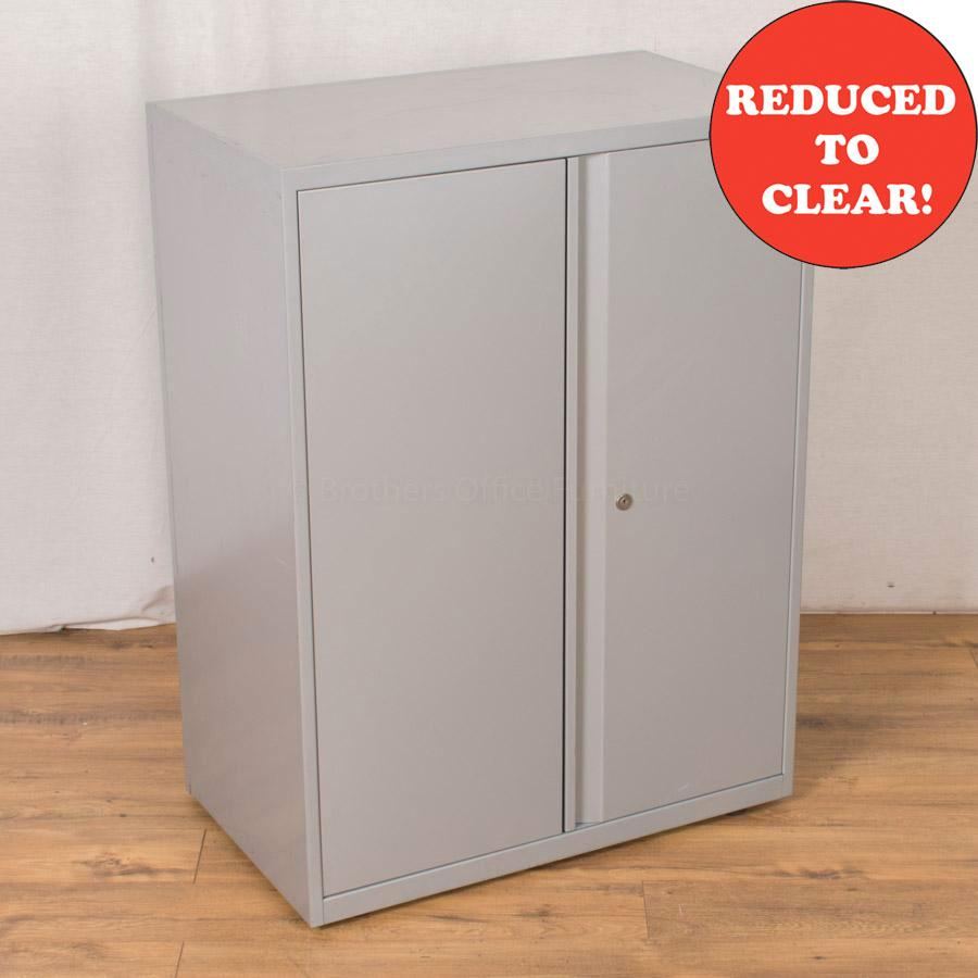 Silver Steel 1070H Storage Cupboard