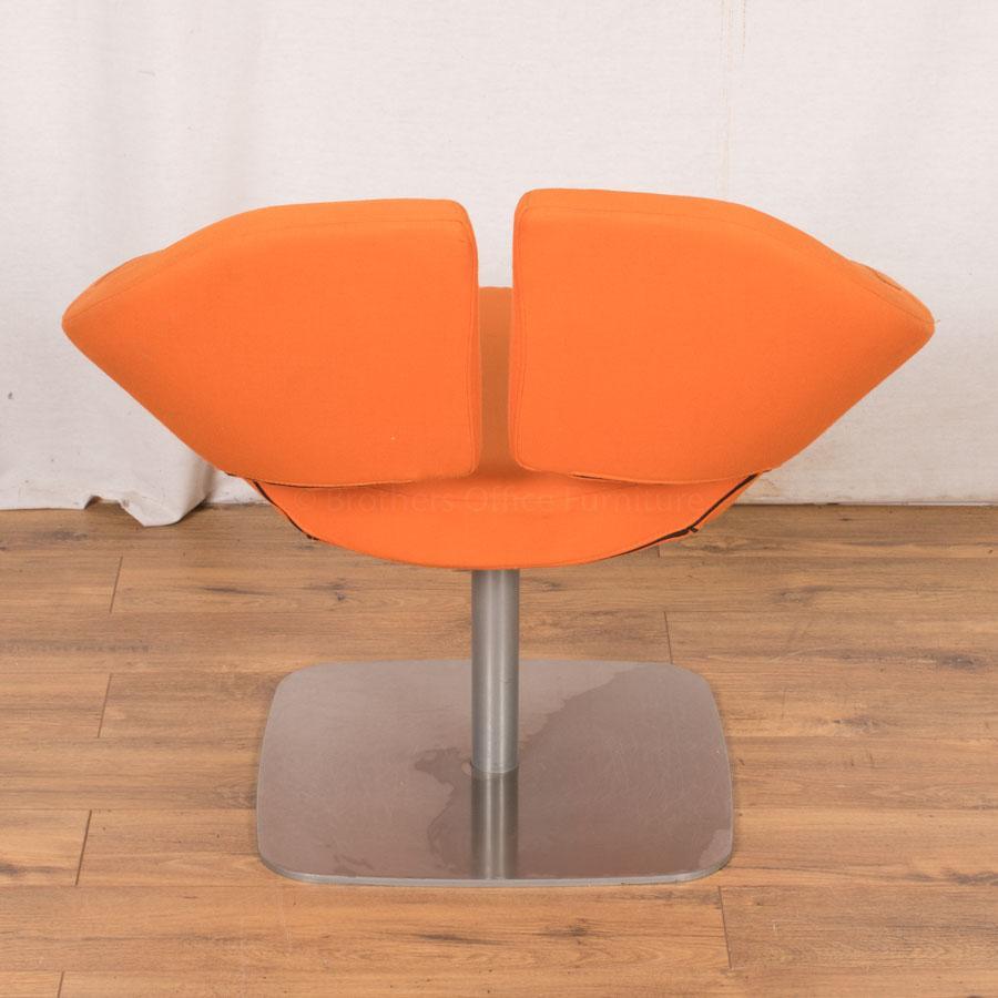 Orange Designer Breakout/Reception Chair