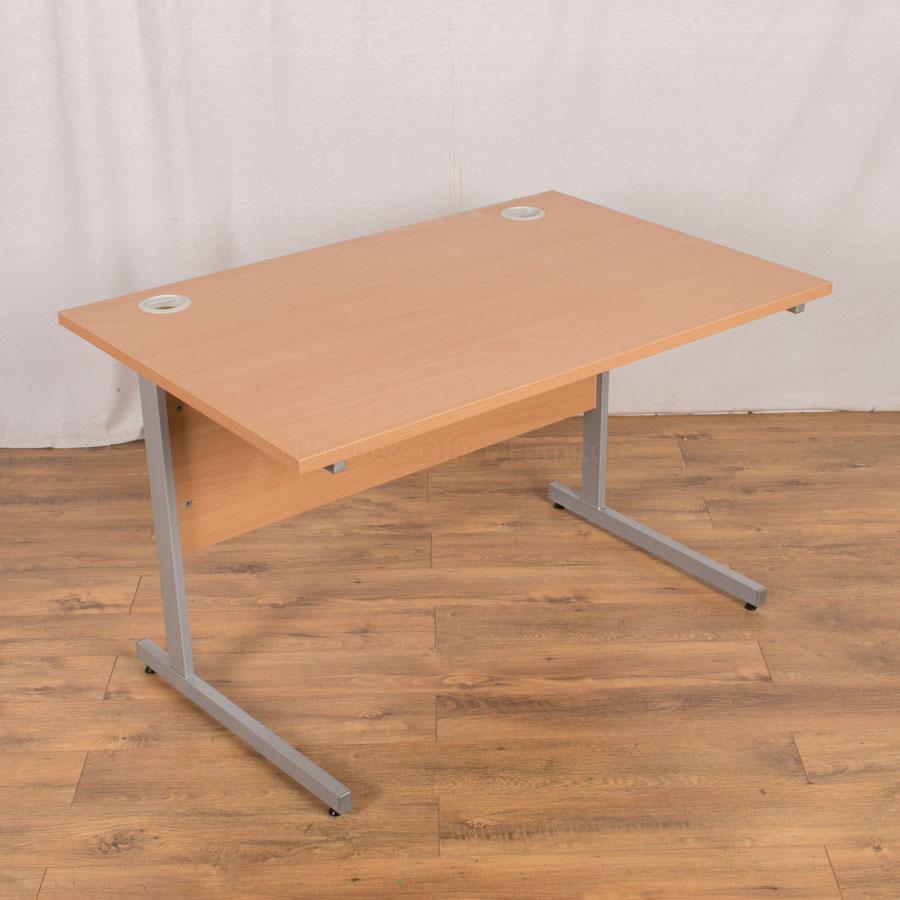 Beech 1200x800 Straight Desk