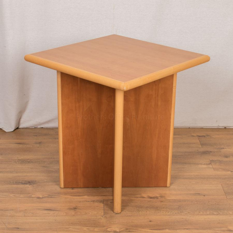 Cherry/Maple Veneer 650x650 Side Table