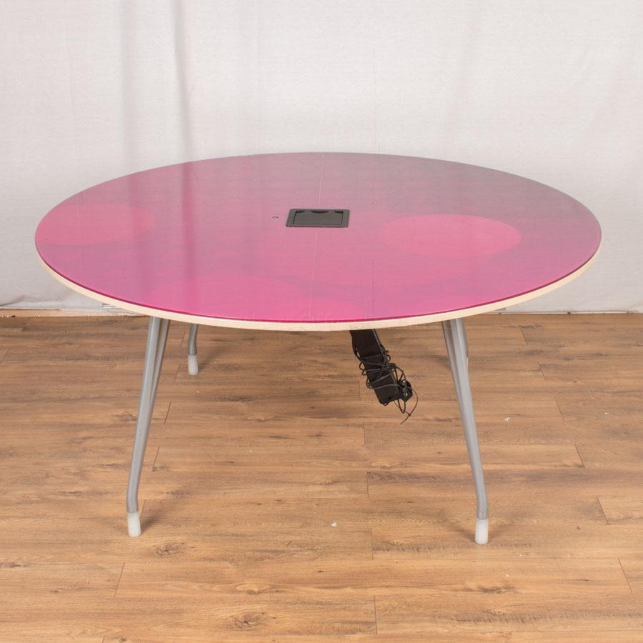 Herman Miller Pink 1600D Meeting Table