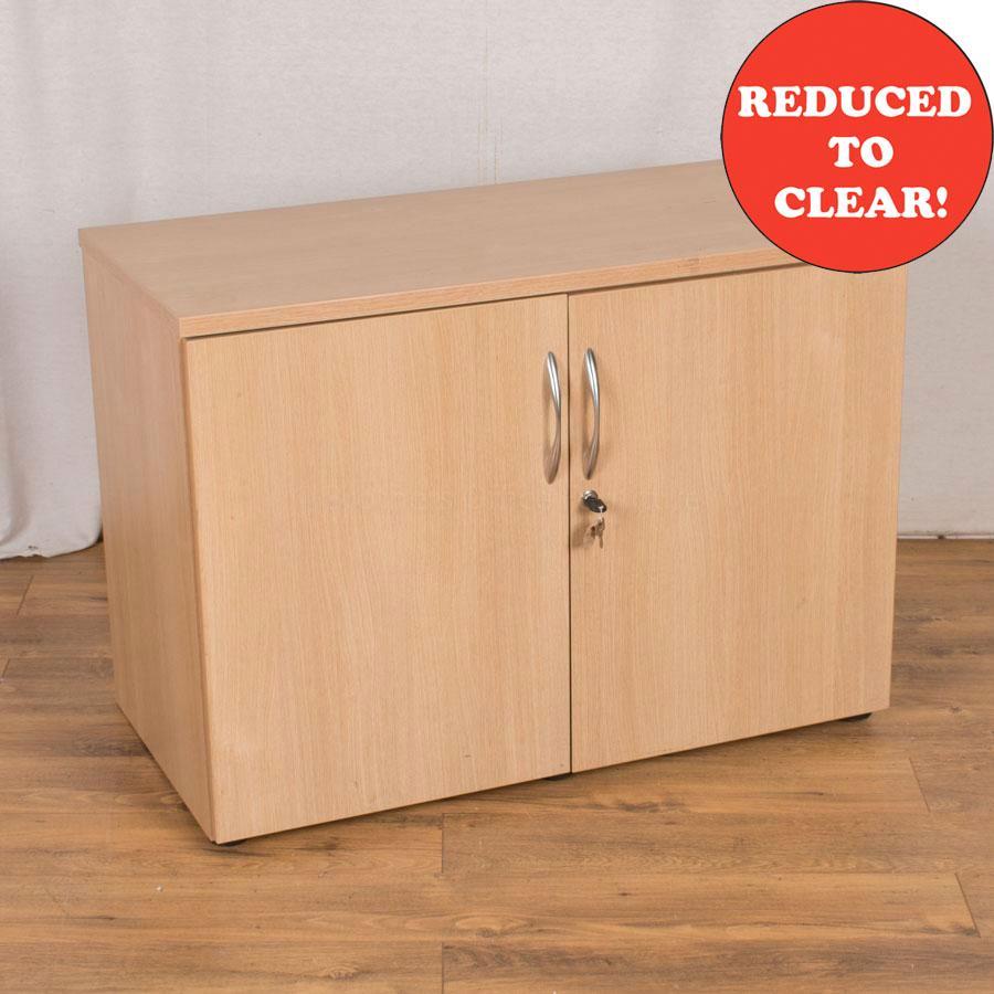 Sand Zebrano 710H Storage Cupboard