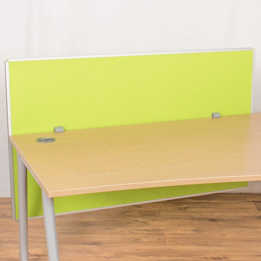 Steelcase Lime Green 1400 Desk Divider