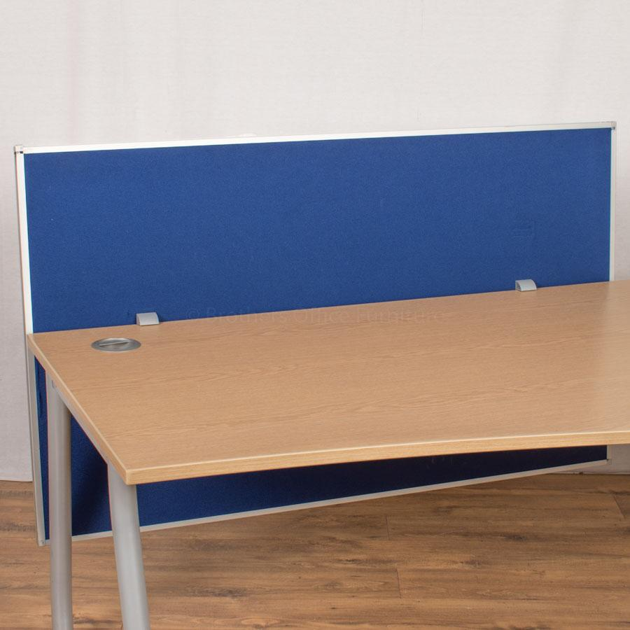 Steelcase Royal Blue 1400 Desk Divider