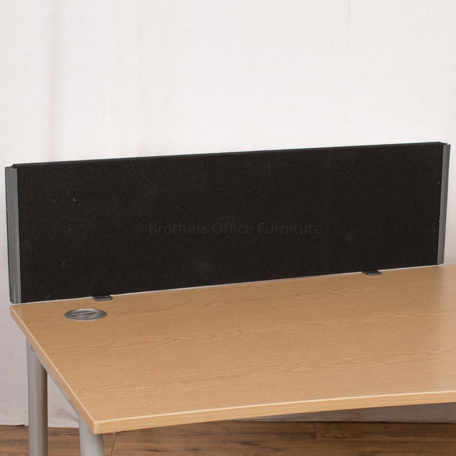 Black 1170 Desk Divider (UDS6)