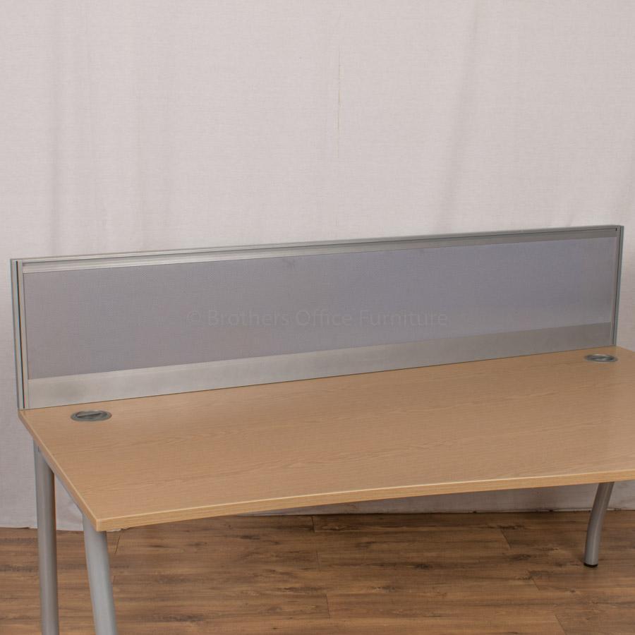 Alu Light Blue 1600 Desk Divider (UDS10)