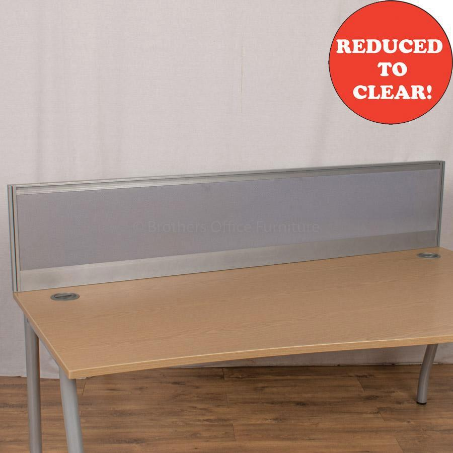 Alu Light Blue 1600 Desk Divider (UDS10)