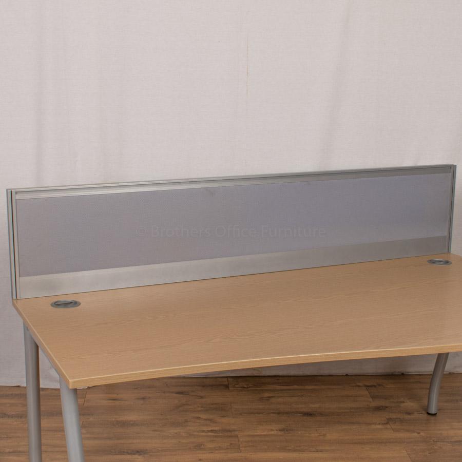 Alu Light Blue 1800 Desk Divider (UDS11)