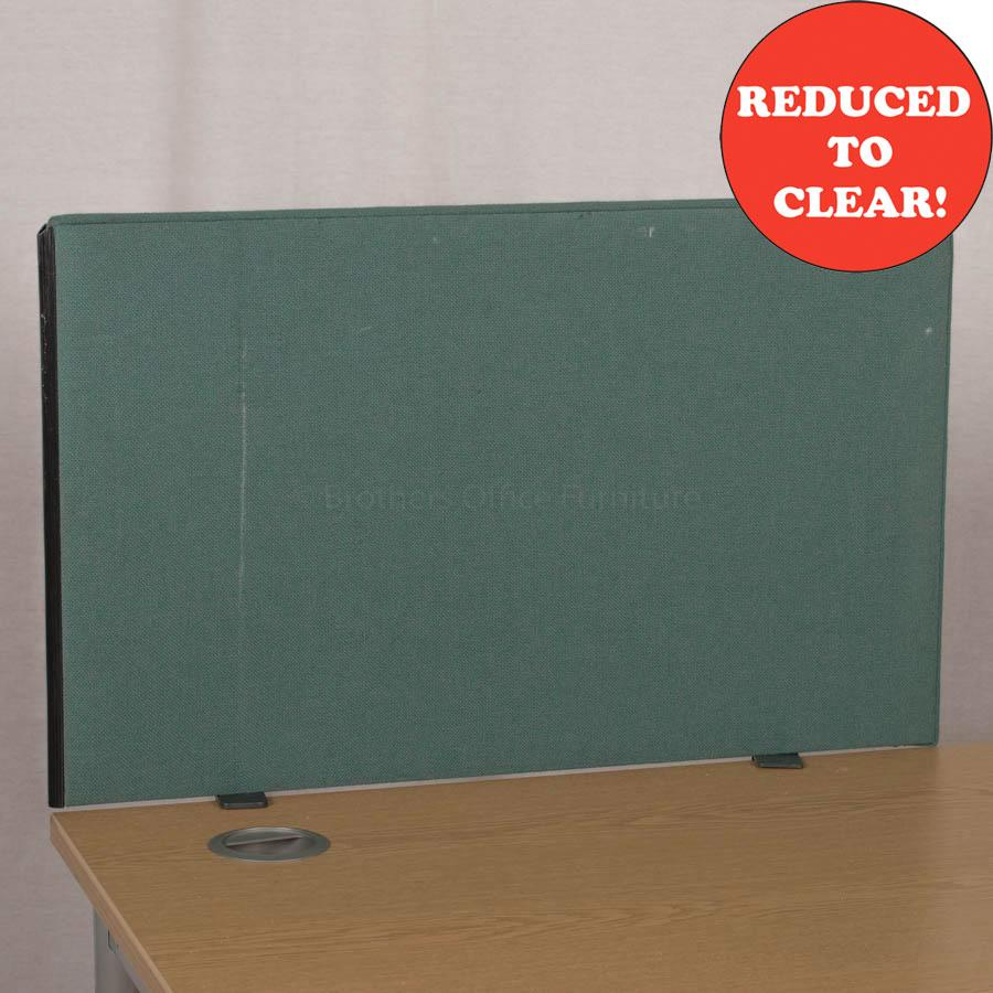 Green 790 Desk Divider (UDS14)
