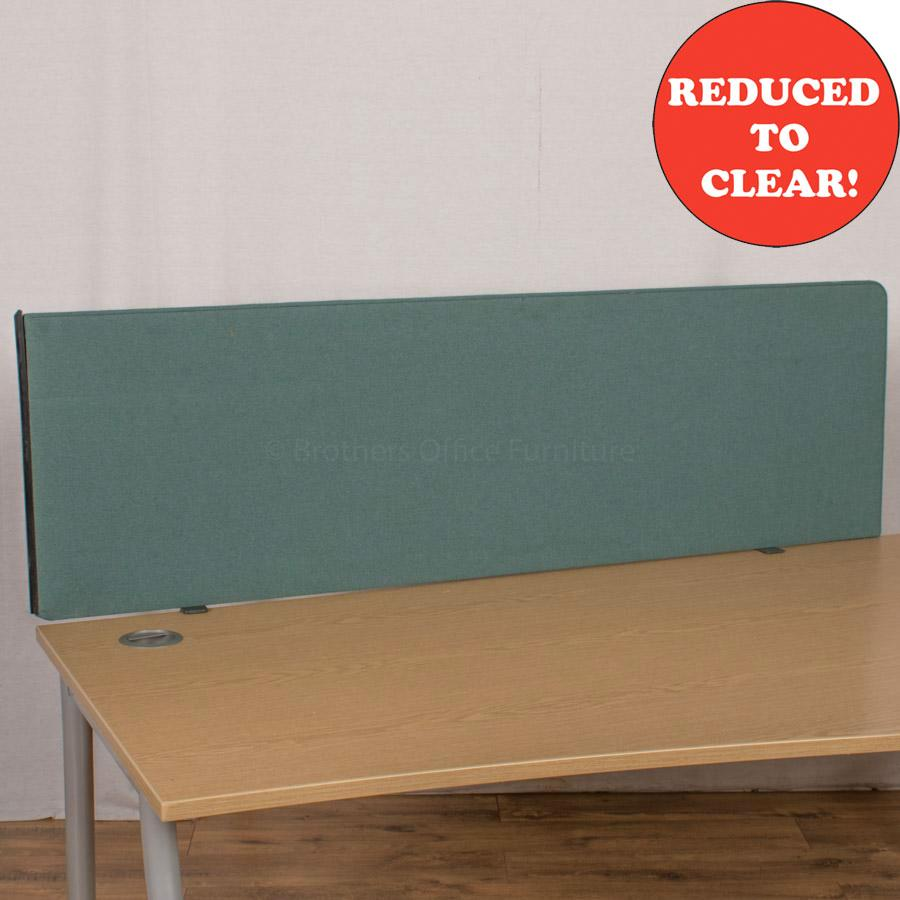 Green 1590 Desk Divider (UDS15)