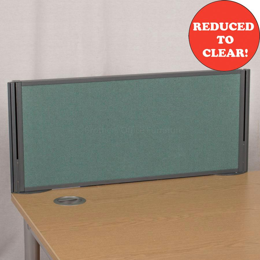 Sven Green 800 Desk Divider (UDS16)