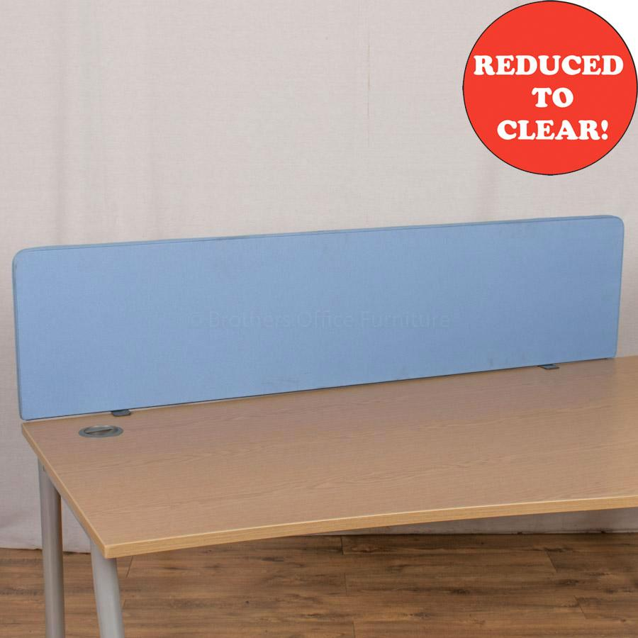 Sky Blue 1600 Desk Divider (UDS17)