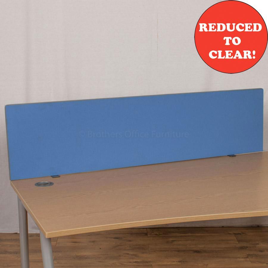 Light Blue 1590 Desk Divider (UDS18)