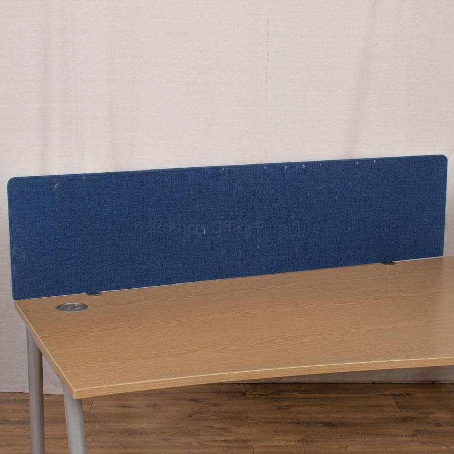 Dark Blue 1600 Desk Divider (UDS19)