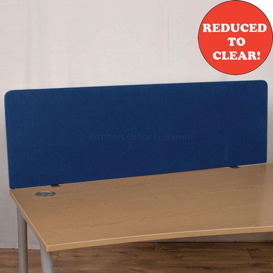 Dark Blue 1500 Desk Divider (UDS20)