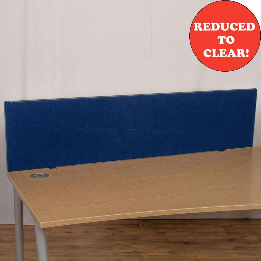 Royal Blue 1590 Desk Divider (UDS22)