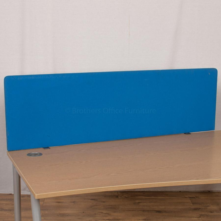 Blue 1600 Desk Divider (UDS24)