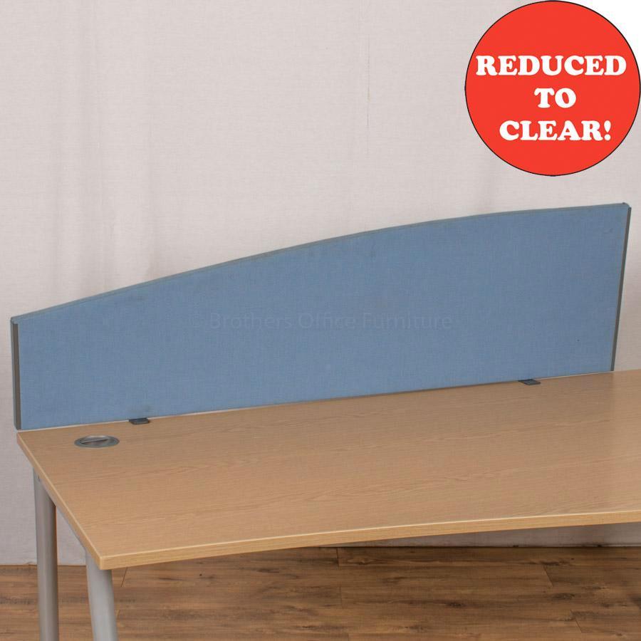 Light Blue 1590 Desk Divider (UDS27)
