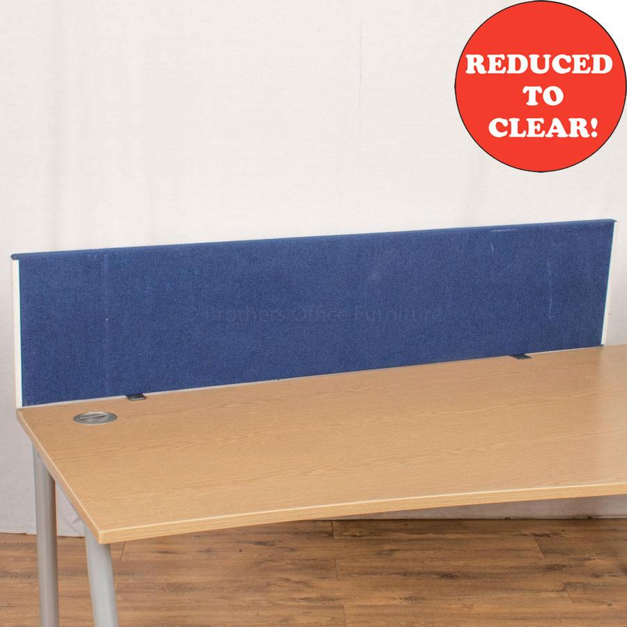 Blue 1600 Desk Divider (UDS30)