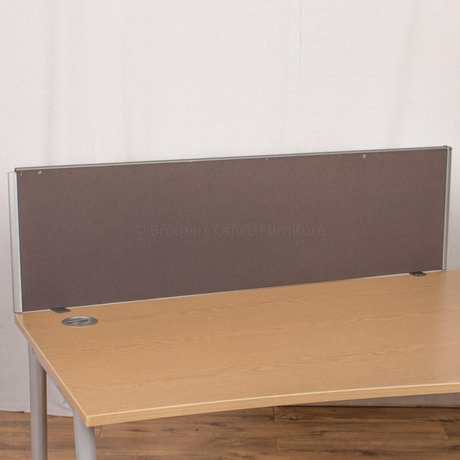 Dark Grey 1400 Desk Divider (UDS32)