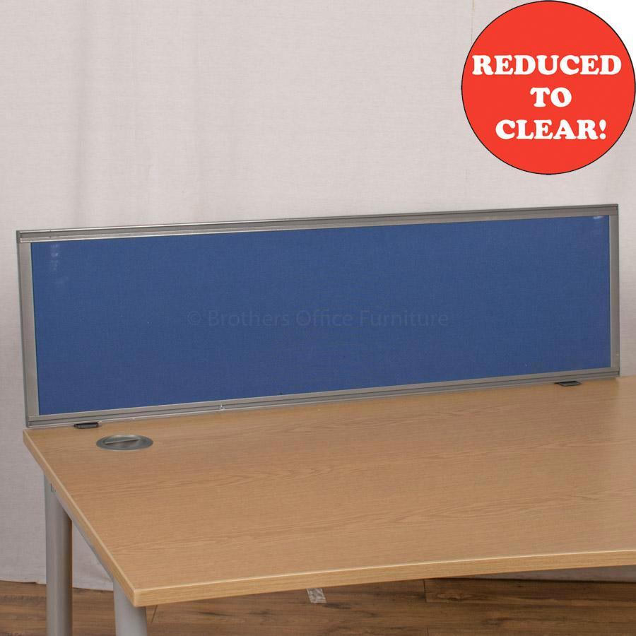 Kinnarps Blue 1200 Desk Divider (UDS35)
