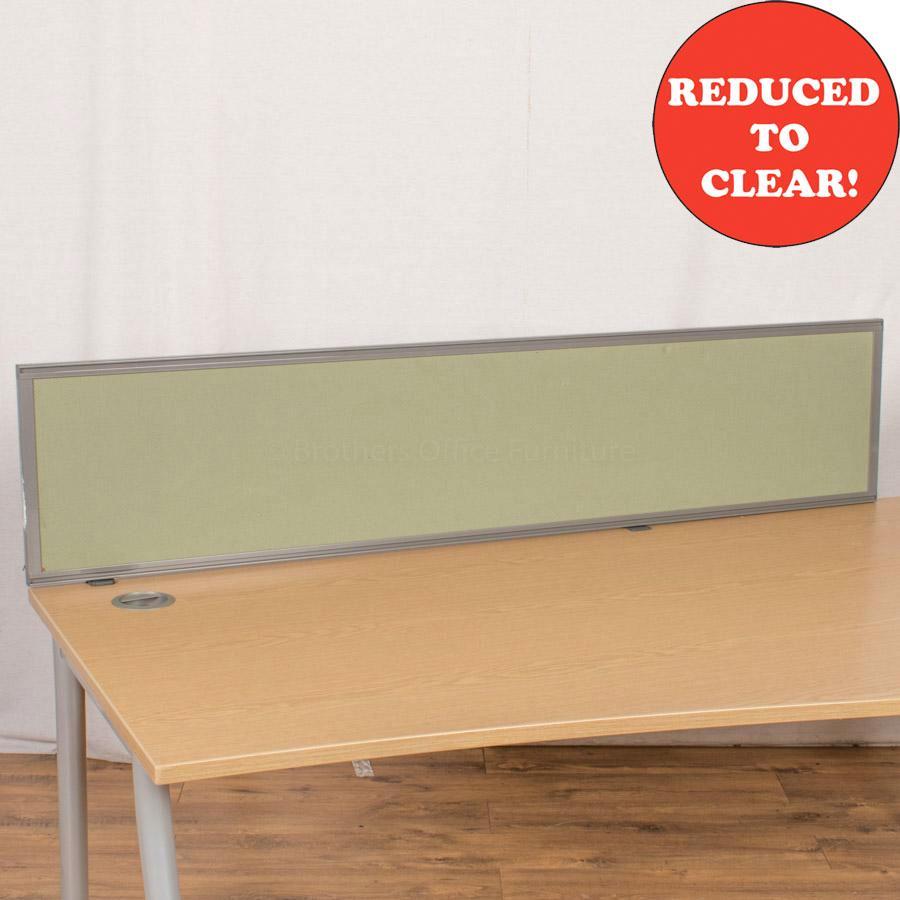Kinnarps Green 1600 Desk Divider (UDS36)