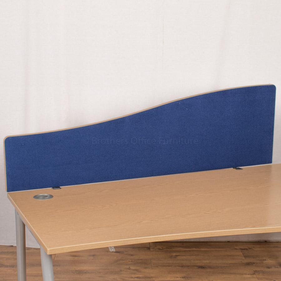 Dams Blue 1600 Desk Divider (UDS38)