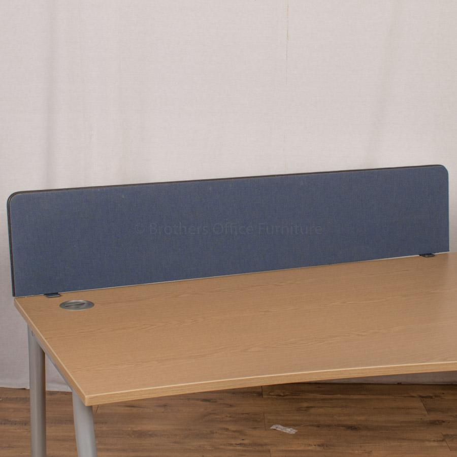 Dark Blue 1500 Desk Divider (UDS42)