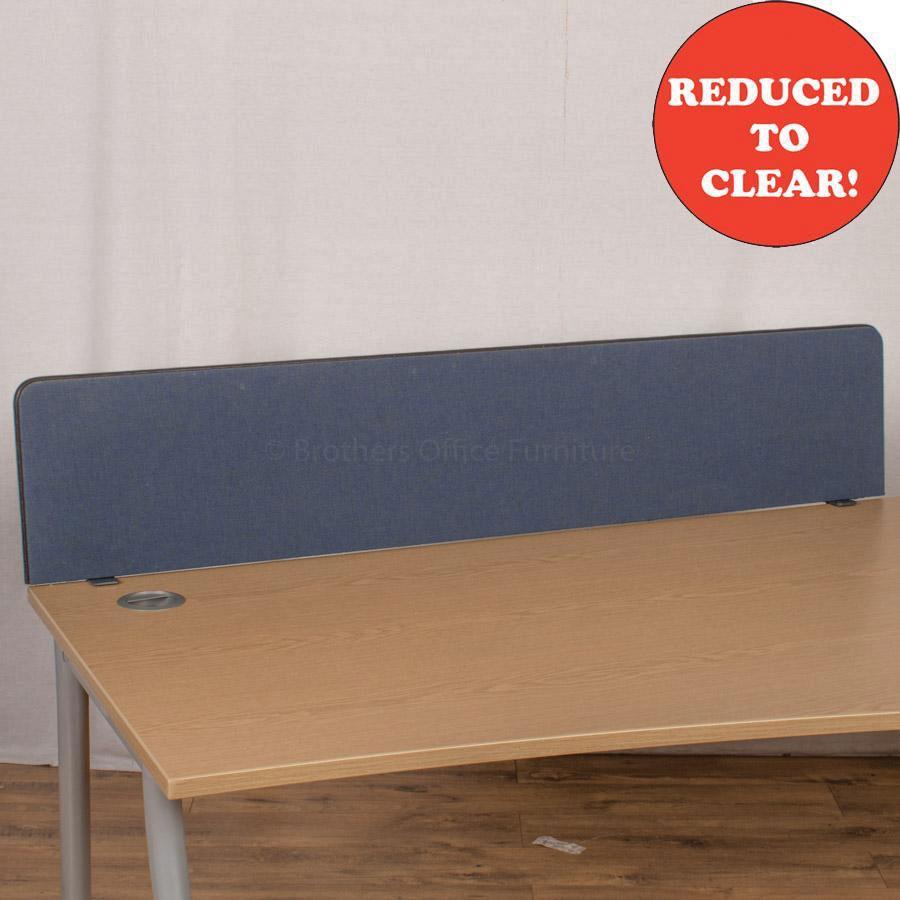 Dark Blue 1500 Desk Divider (UDS42)