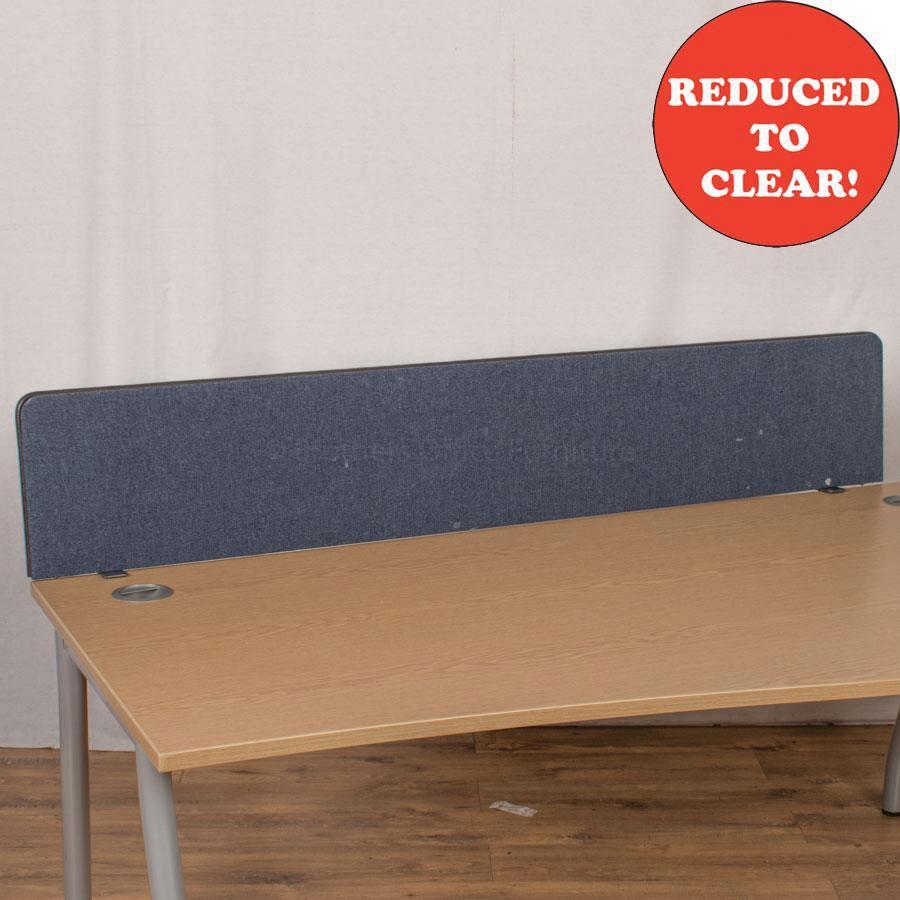 Dark Blue 1700 Desk Divider (UDS43)