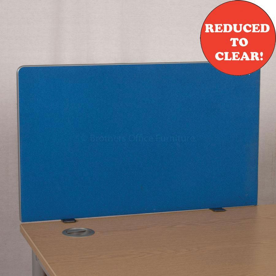 Blue 800 Desk Divider (UDS45)