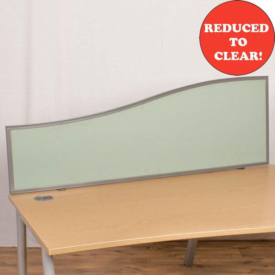 Kinnarps Green 1600 Desk Divider (UDS48)