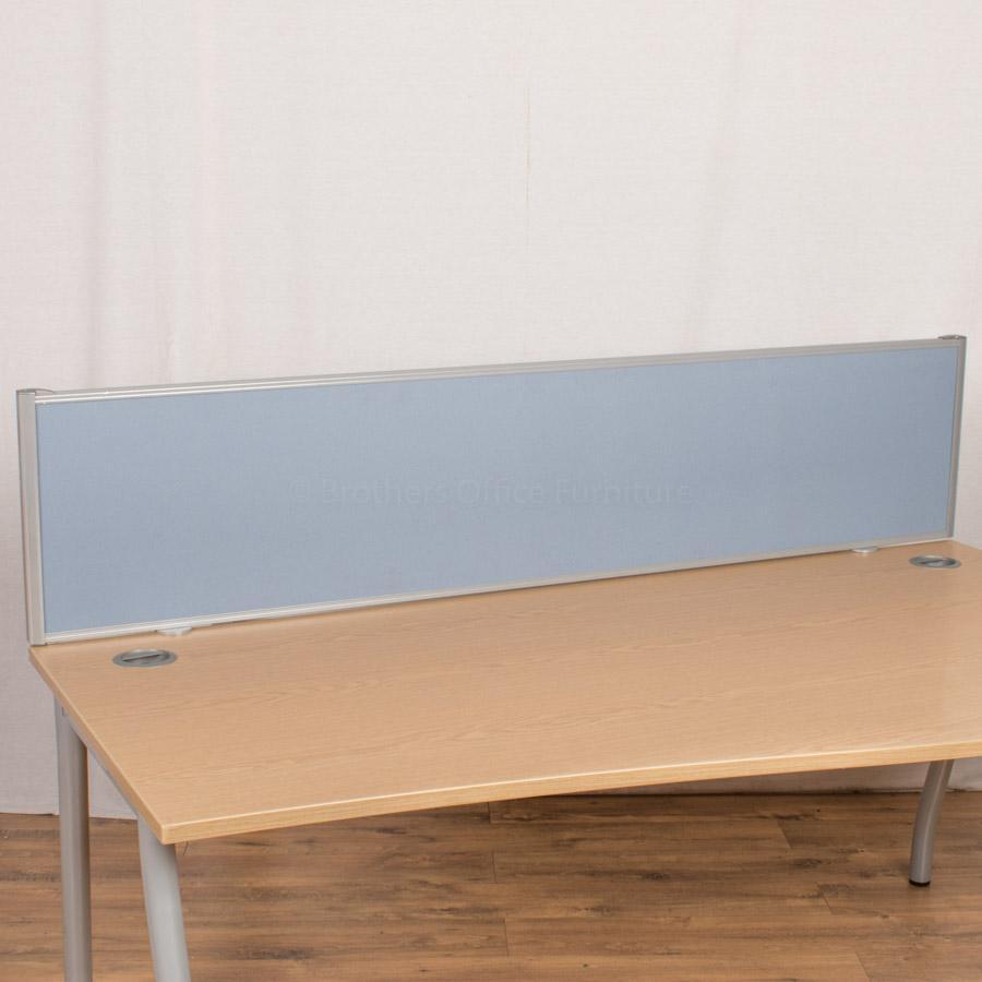 Techo Light Blue 1800 Desk Divider (UDS49)