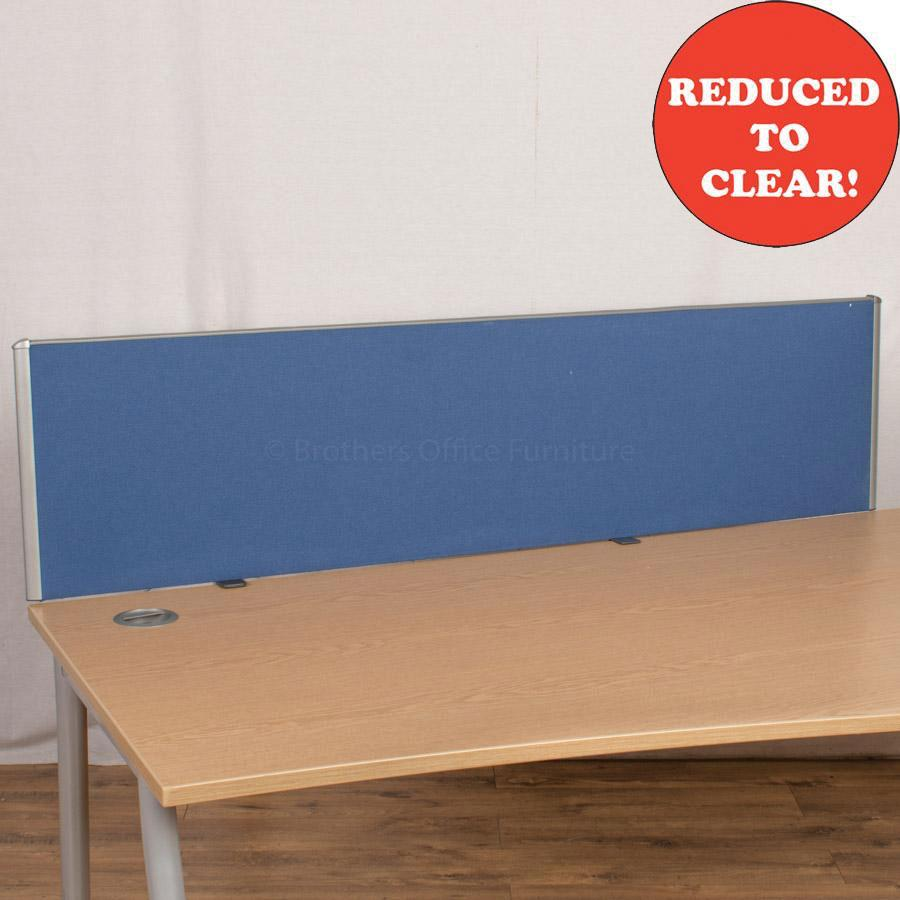 Blue 1590 Desk Divider (UDS50)