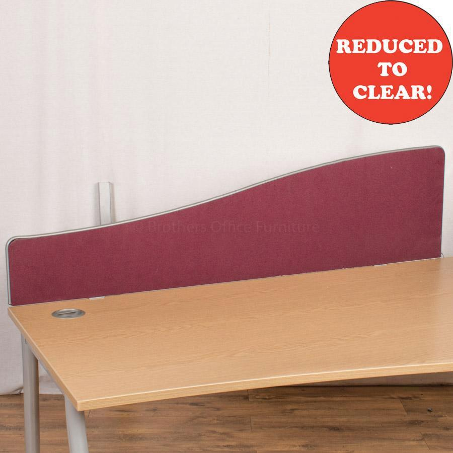 Burgundy 1570 Desk Divider (UDS51)