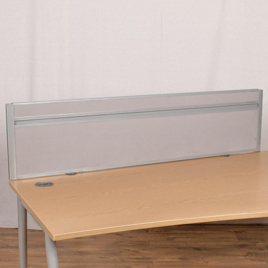 Grey 1600 Desk Divider (UDS60)
