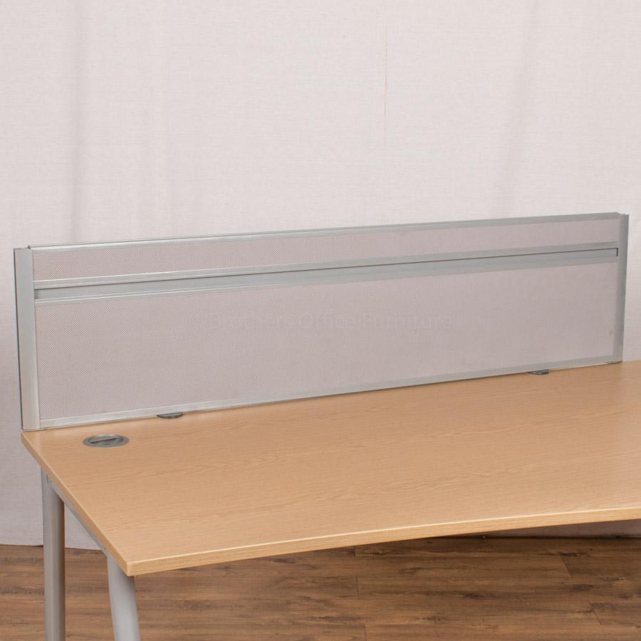 Grey 1600 Desk Divider (UDS60)