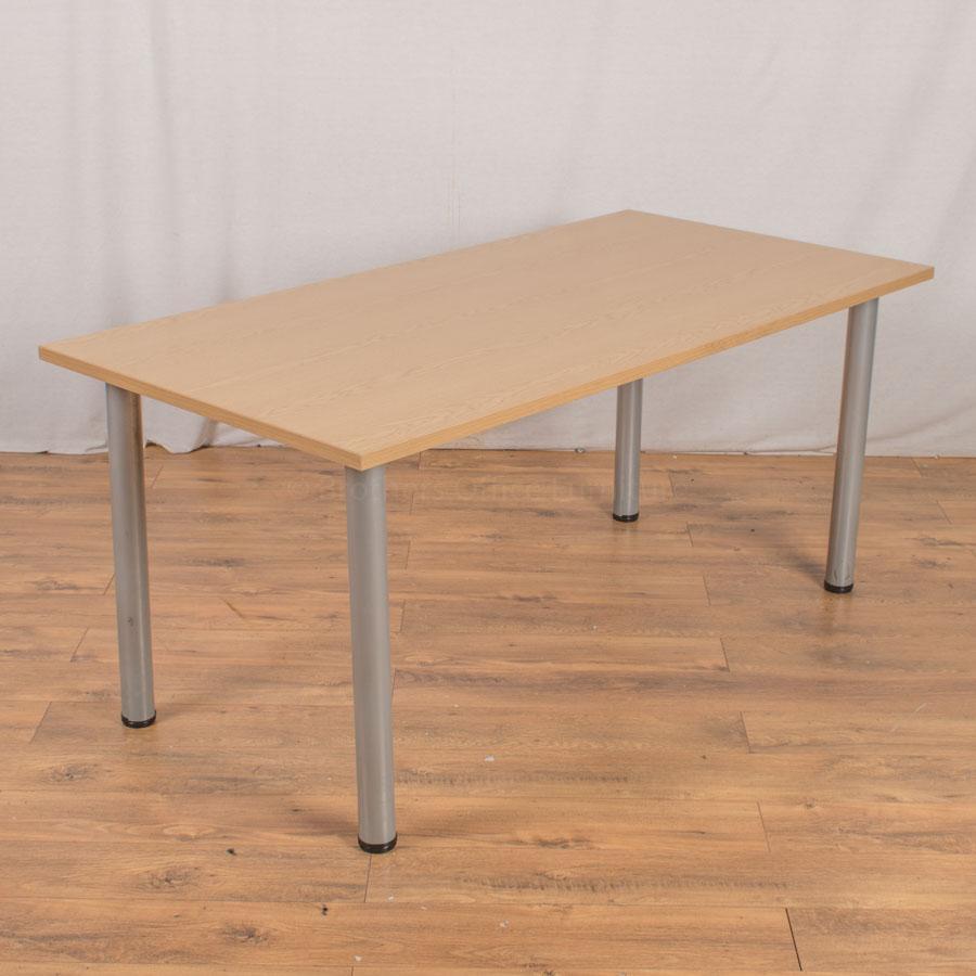 Senator Oak 1600x800 Meeting Table