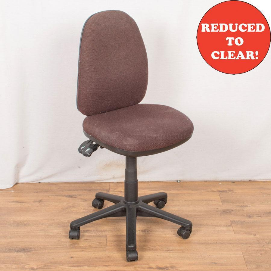 2 Lever Office Chair | Brown (OP177)